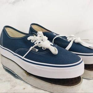 Authentic Navy Vans